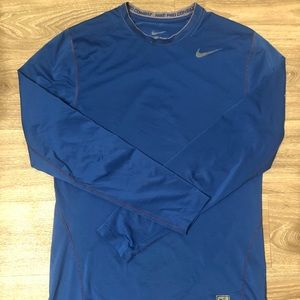 Nike Pro Combat Dri-Fit Men's Shirt Size L Fitted